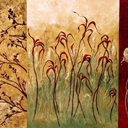 Botanicalthree_30x24acrylicandsand_2008fullviewperspectivecutreszed_card