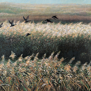 Autumn_reeds_and_wild_ducks__oil_on_canvas_116