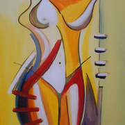 Yellow_nude_652008_50x70cm_card