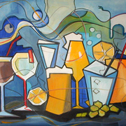 Cocktails_12-112002_70x100cm_oel_card