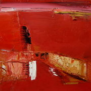 Red_rain_60x60cm_oil_2007_card