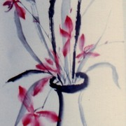 Ch-143-190-orchid_in_vase-l-_scroll-jpg_card
