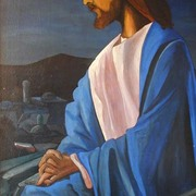 Jesus_am_oelberg_mrz_1977_76x124cm_acryl_auf_holz_card