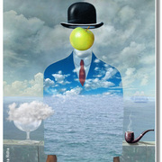 A_homage_to_rené_magritte_card