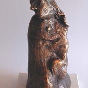 Enttaeuschung__222008__13x13x32cm_h_bronze