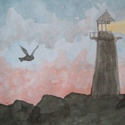 Lighthouseatdusk_card