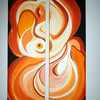 Peaches__acryllic_on_canvas__2_pieces__120cmx80cm_leyla_murr_thumb