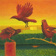 The_gathering_crows_-_borough_fen_card
