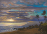 Sunset on Maui by Danielle Shier