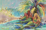 Mermaid Lagoon by Blossoming Stillness by Ruth Moses