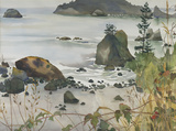 Trinidad Beach by Mabel Minnich Miller