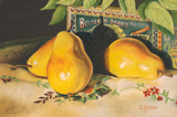 Yellow Pear Trio by Carol Gunn