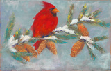 Red Bird for Christmas by Jane Elizabeth