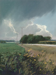 Clearing Storm – County Line Road by John Preston
