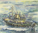 Tugboat Dalzellaird to the Rescue by David Jaycox, Jr.