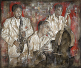 Jazz I by Marta Wiley