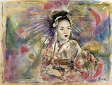 Geisha I by Marta Wiley