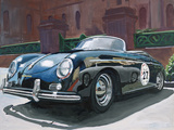 1955 Porsche Speedster by James E Caldwell III