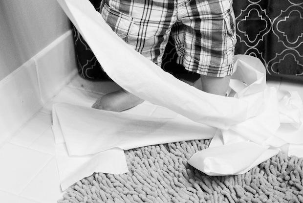 Essuyer-papier-toilette