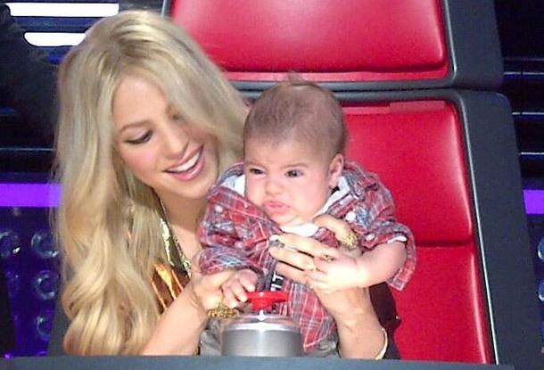 Shakira-allaitement