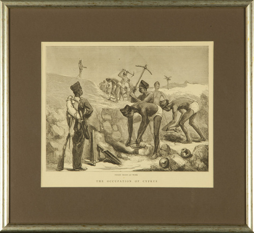 Indian Troops at Work