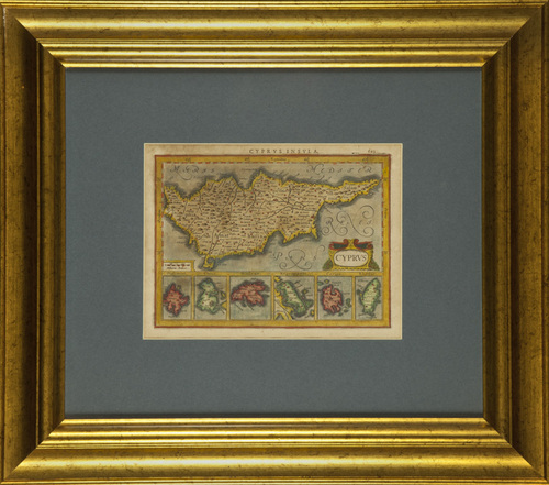 Old Cyprus Map