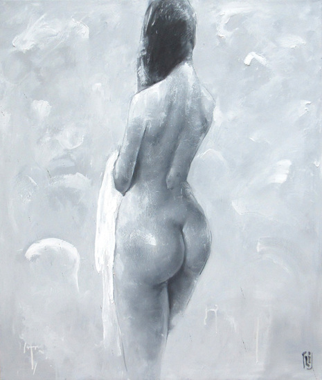 Nude  Oil on Canvas