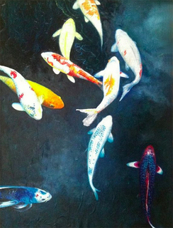 Fish, Holland Park - London