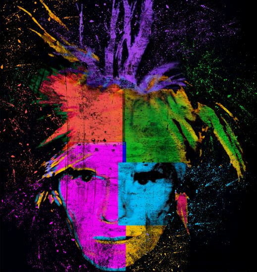 "Andy Warhol ""Crossed Colors"""
