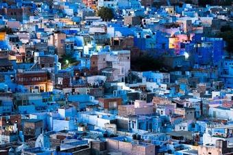 Blue City Early Dusk