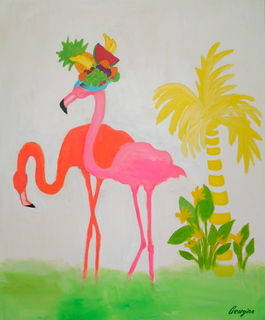 Fruity Flamingo