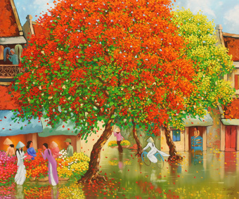 After Rain In Hanoi