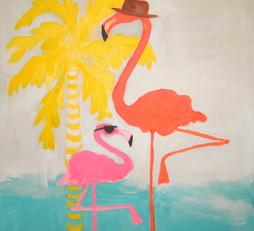 Fedora Flamingo
