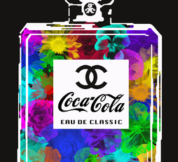 "Coca Chanel Classic ""Flowers"""