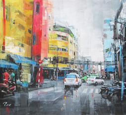 Bui Vien Street After Rain
