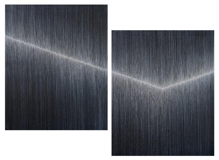 Anna szprynger  no title diptych  2017  acrylic  canvas  100 x 81 x 2 cm copy