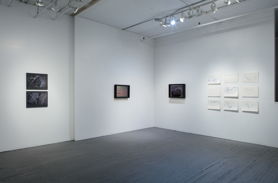 Installation View - Roger Kausch and Margarita Sánchez Urdaneta