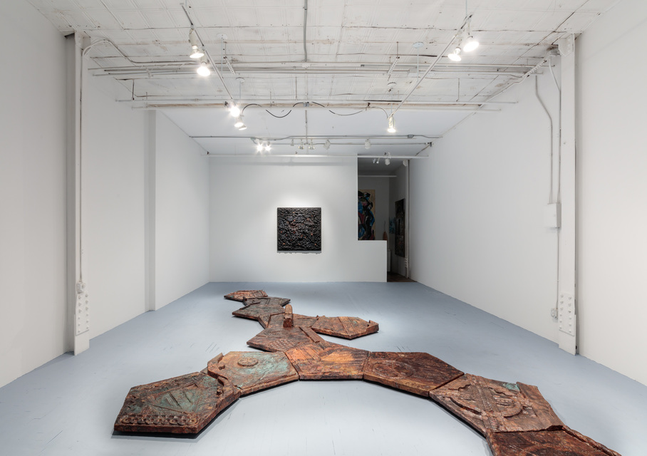 Marius ritiu  the tale of a found dimension installation view 5