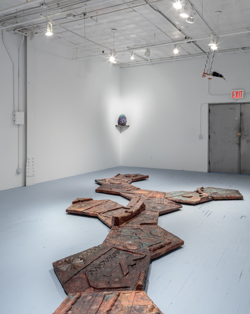 Installation View - Marius Ritiu
