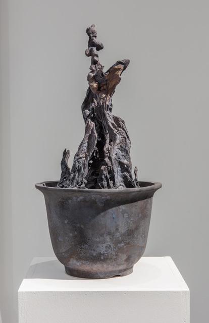 """Germinal, 11""""X11""""X21"""", bronze, 2016"""
