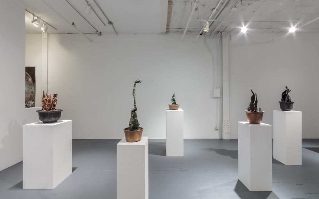 Installation View - Weixian Jiang
