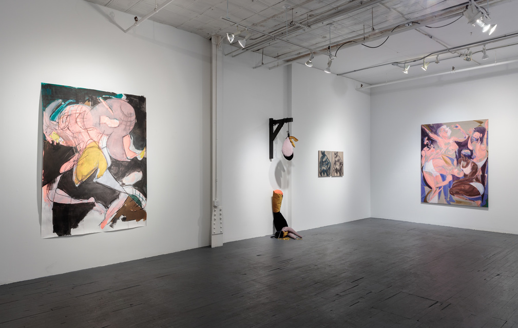 Installation View - Tina Schwarz