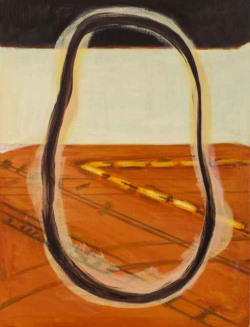 Stage Wachten 2015 - 2018 47,8 cm x 37 cm Oil on Canvas