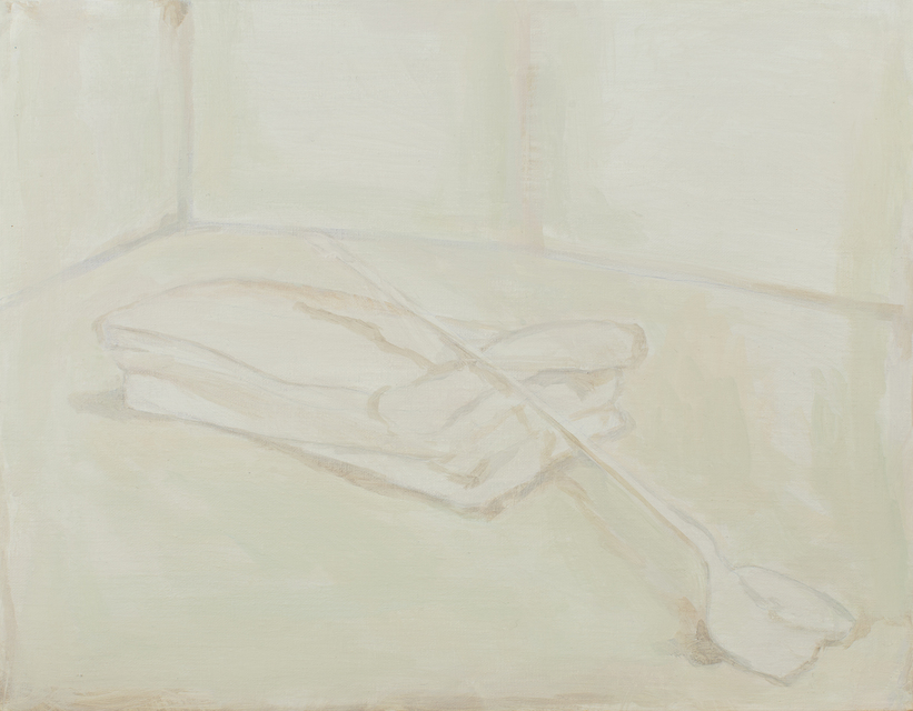 Isabel's Shovel 2018 37,5 cm x 48 cm Oil on Canvas