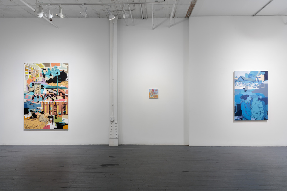 Between Objects & Actions: Installation View.