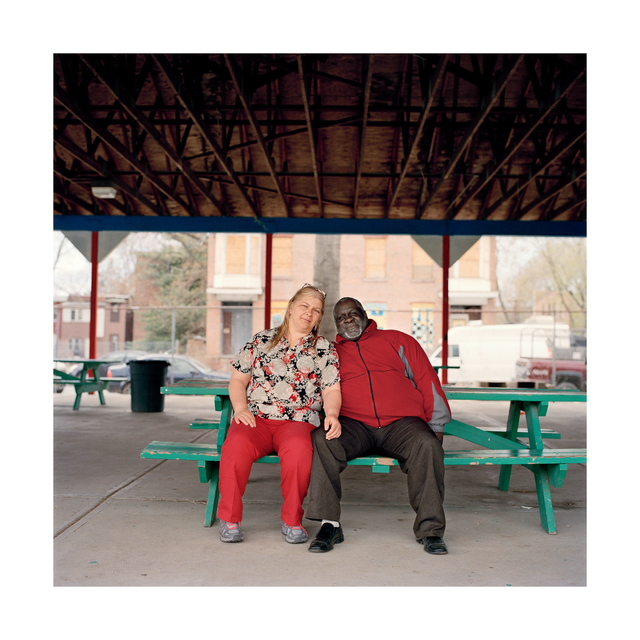 Uncle Mac and Wife, 18 x 18 in, Archival Print on Canson Baryta Photographique Paper, 2015- 2020, edition of five