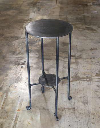 Forged_and_fabricated_round_top_table