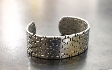 3_forged_recycled_stainless_steel_bracelet