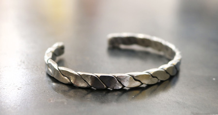 5_forged_and_twisted_stainless_steel_bracelet