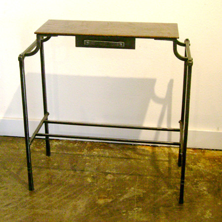 Copper-top-table